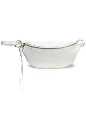 REBECCA MINKOFF Croc-effect leather belt bag