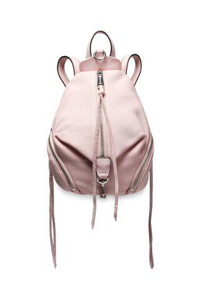 REBECCA MINKOFF Julian convertible pebbled-leather backpack