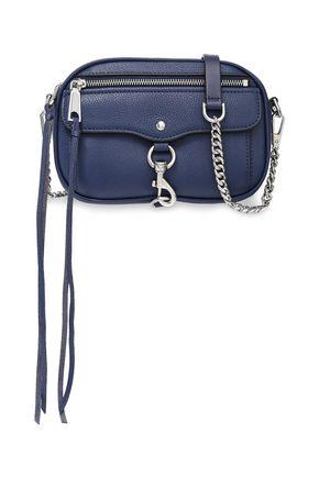 REBECCA MINKOFF Studded textured-leather shoulder bag