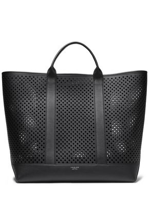 MICHAEL KORS COLLECTION Georgica extra-large perforated leather tote