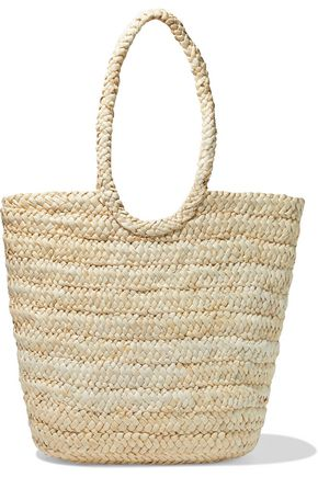 IRIS & INK Tappen woven straw tote