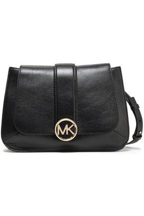 MICHAEL MICHAEL KORS Logo-embellished leather shoulder bag