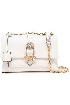 MICHAEL MICHAEL KORS Cece medium crystal-embellished leather shoulder bag