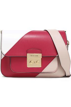 MICHAEL MICHAEL KORS Color-block leather shoulder bag