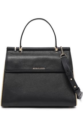 MICHAEL MICHAEL KORS Jasmine leather shoulder bag