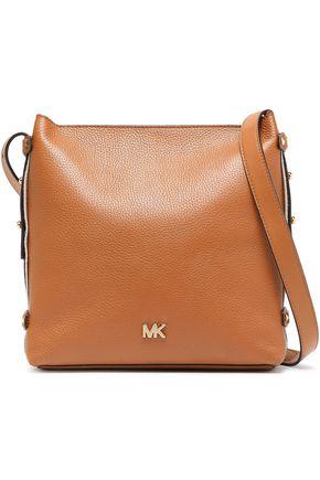 MICHAEL MICHAEL KORS Griffin studded textured-leather shoulder bag