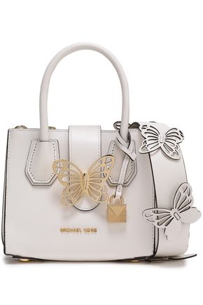 MICHAEL MICHAEL KORS Extra-small appliquéd leather shoulder bag