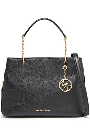 MICHAEL MICHAEL KORS Lillie pebbled-leather shoulder bag
