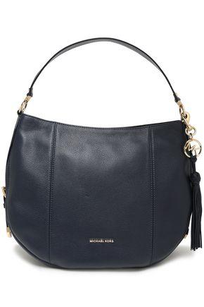 MICHAEL MICHAEL KORS Brooke large textured-leather shoulder bag