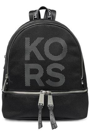 MICHAEL MICHAEL KORS Rhea logo-print faux leather backpack