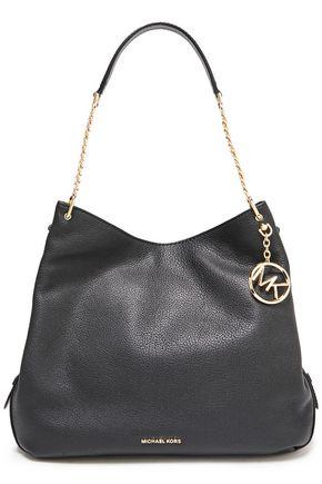 MICHAEL MICHAEL KORS Lillie large textured-leather shoulder bag
