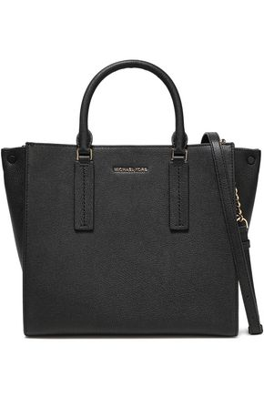 MICHAEL MICHAEL KORS Alessa pebbled-leather tote