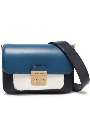MICHAEL MICHAEL KORS Color-block large leather shoulder bag