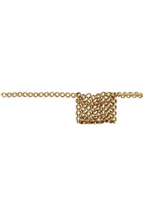 LAURA LOMBARDI Gold-tone belt bag