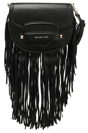 MICHAEL MICHAEL KORS Cary fringed leather shoulder bag
