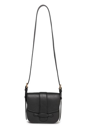 VANESSA BRUNO Gemma mini textured-leather shoulder bag