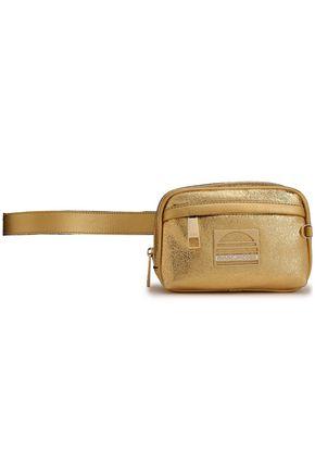 マーク ジェイコブス 装飾付き メタリックひび加工レザー ベルトバッグ