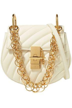 CHLOÉ Quilted-leather shoulder bag