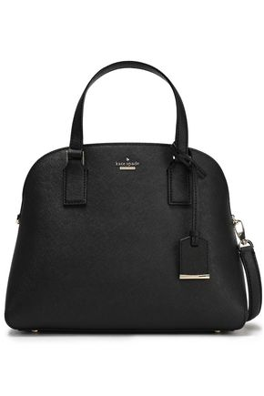 KATE SPADE New York Cameron Street Lottie textured-leather shoulder bag