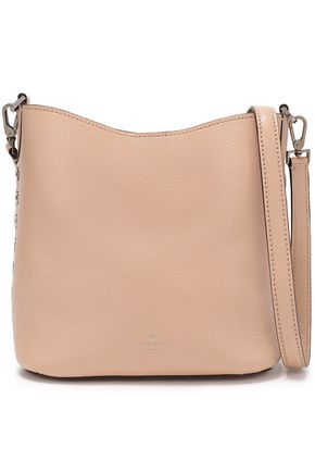 KATE SPADE New York Atlantic Avenue Small Libby eyelet-embellished pebbled-leather shoulder bag