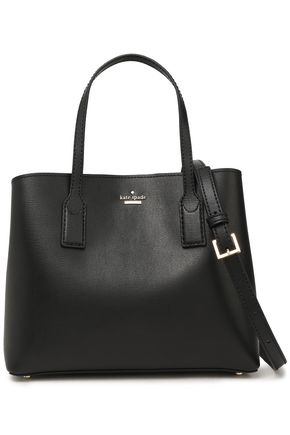 KATE SPADE New York Hadley Road Dina textured-leather shoulder bag