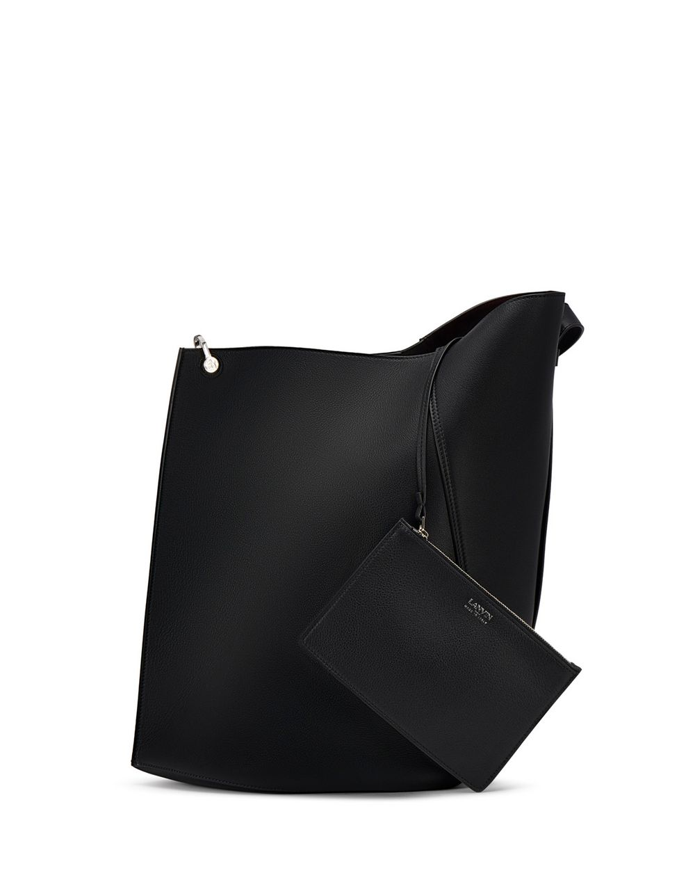BLACK HOOK BAG - Lanvin