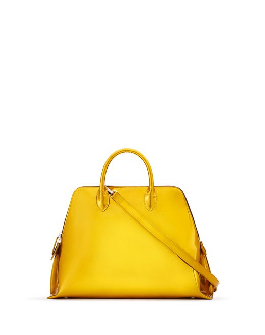MEDIUM MARGOT BAG IN METALLIC SUN - Lanvin