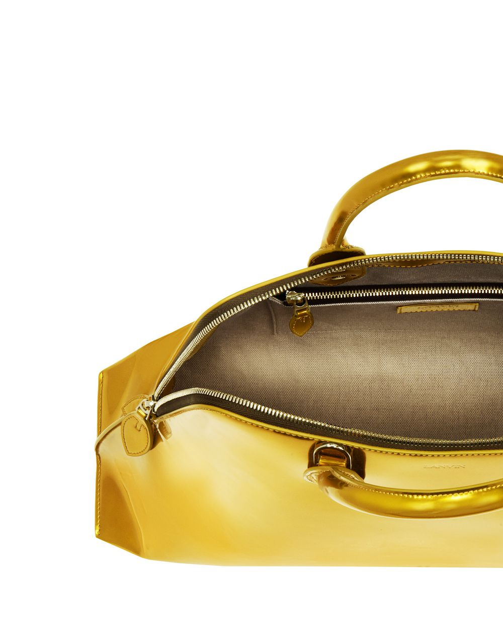 MAGOT METALLIC BAG MEDIUM - Lanvin