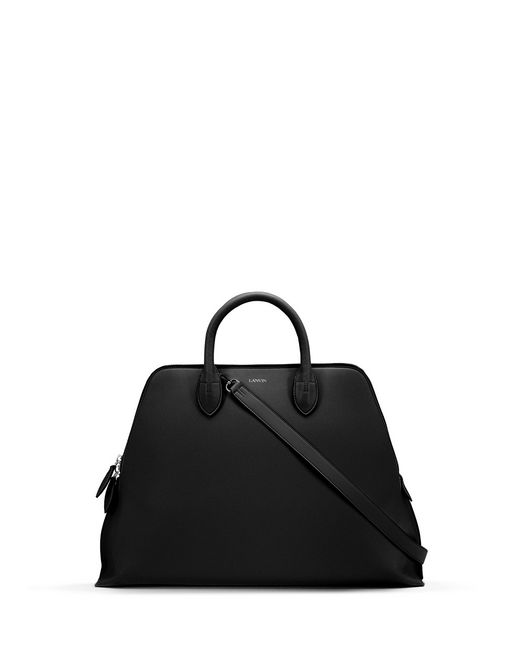MEDIUM BLACK MAGOT BAG - Lanvin