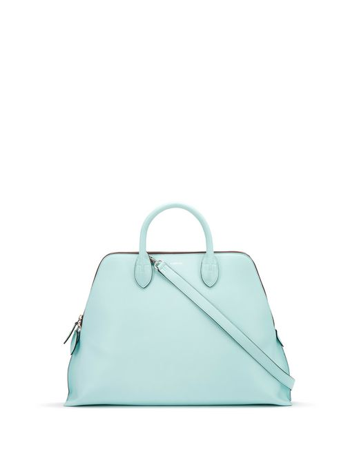 MEDIUM LANVIN MAGOT BAG IN BLUE  - Lanvin