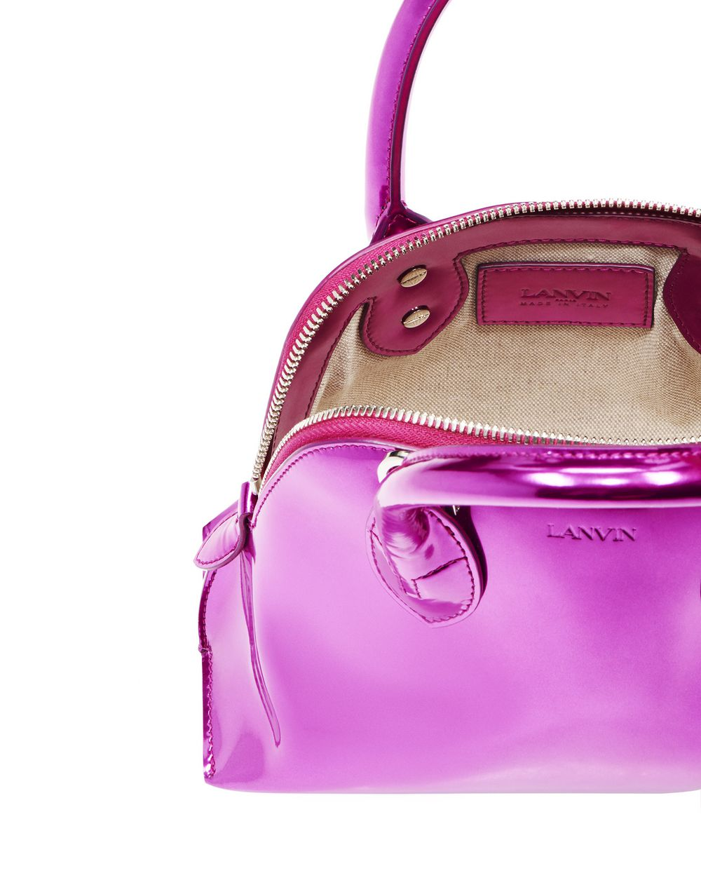 MAGOT METALLIC BAG MINI - Lanvin