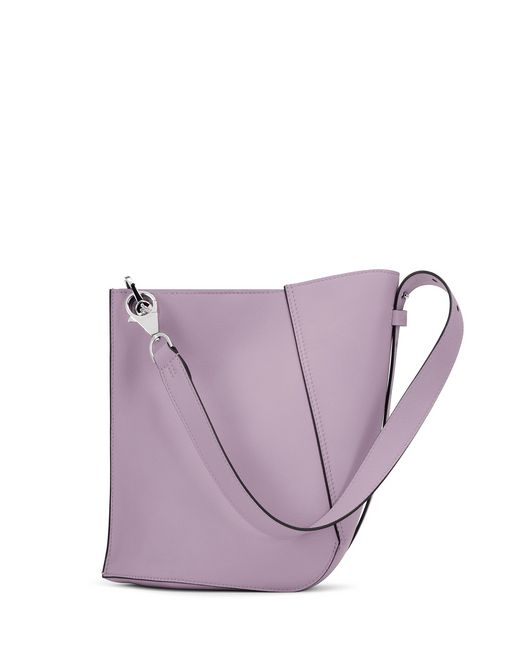 MEDIUM LILAC HOOK BAG - Lanvin