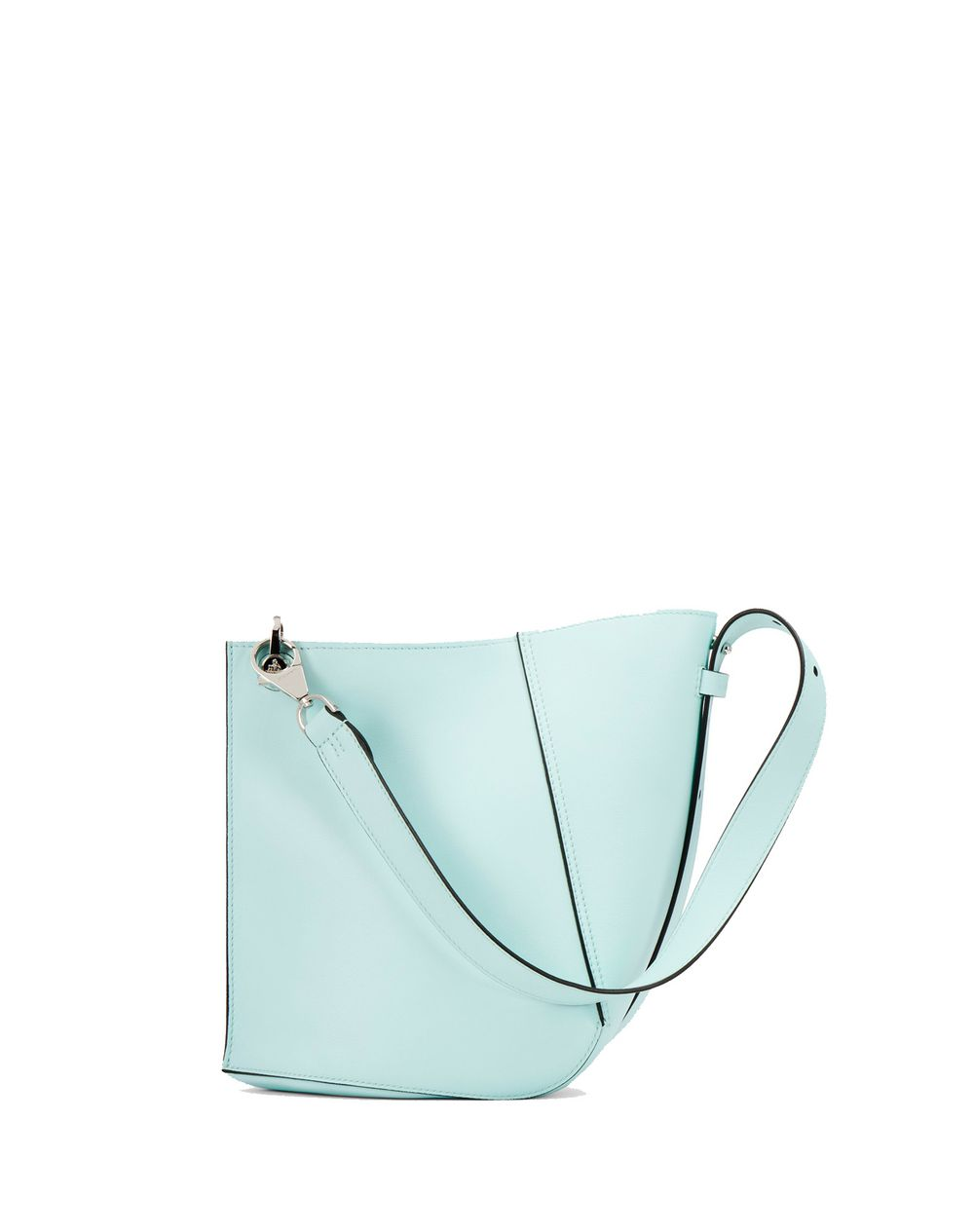 SMALL LANVIN BLUE HOOK BAG - Lanvin