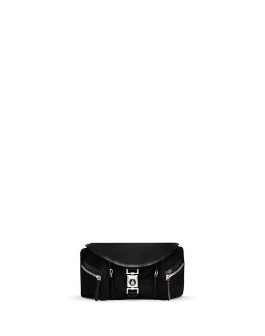 BLACK VENICE BELT BAG - Lanvin