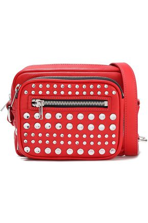 McQ Alexander McQueen Studded leather shoulder bag