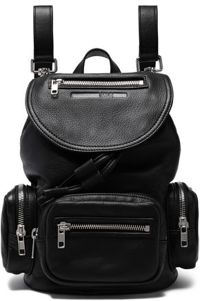 McQ Alexander McQueen Mini textured leather backpack