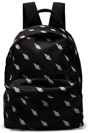 McQ Alexander McQueen Printed shell backpack