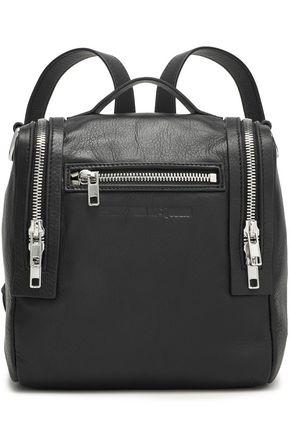 McQ Alexander McQueen Loveless Mini convertible textured-leather backpack