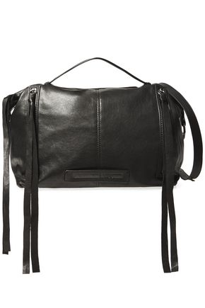 McQ Alexander McQueen Biker leather shoulder bag