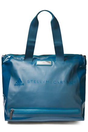 """ADIDAS by STELLA McCARTNEY حقيبة رياضية """"ستوديو"""" من الجلد الاصطناعي اللامع"""