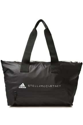 ADIDAS by STELLA McCARTNEY Studio rubber-trimmed printed shell weekend bag