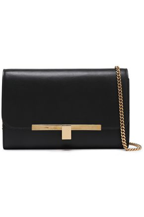 VICTORIA BECKHAM Textured-leather shoulder bag