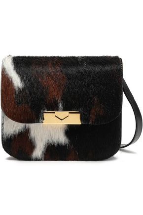 VICTORIA BECKHAM Eva calf hair and leather shoulder bag