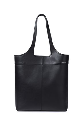 VICTORIA BECKHAM North South textured-leather tote