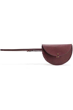 JÉRÔME DREYFUSS Whipstitched leather belt bag