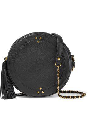 JÉRÔME DREYFUSS Remi tasseled textured-leather shoulder bag
