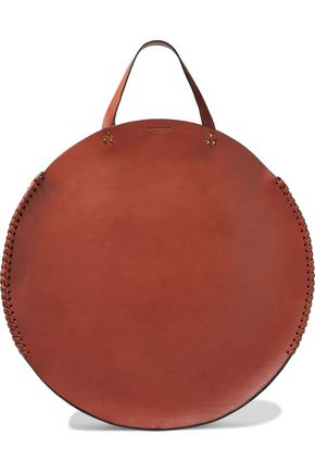 JÉRÔME DREYFUSS Hector whipstitched leather tote