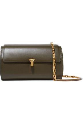 THE VOLON PO Trunk leather shoulder bag