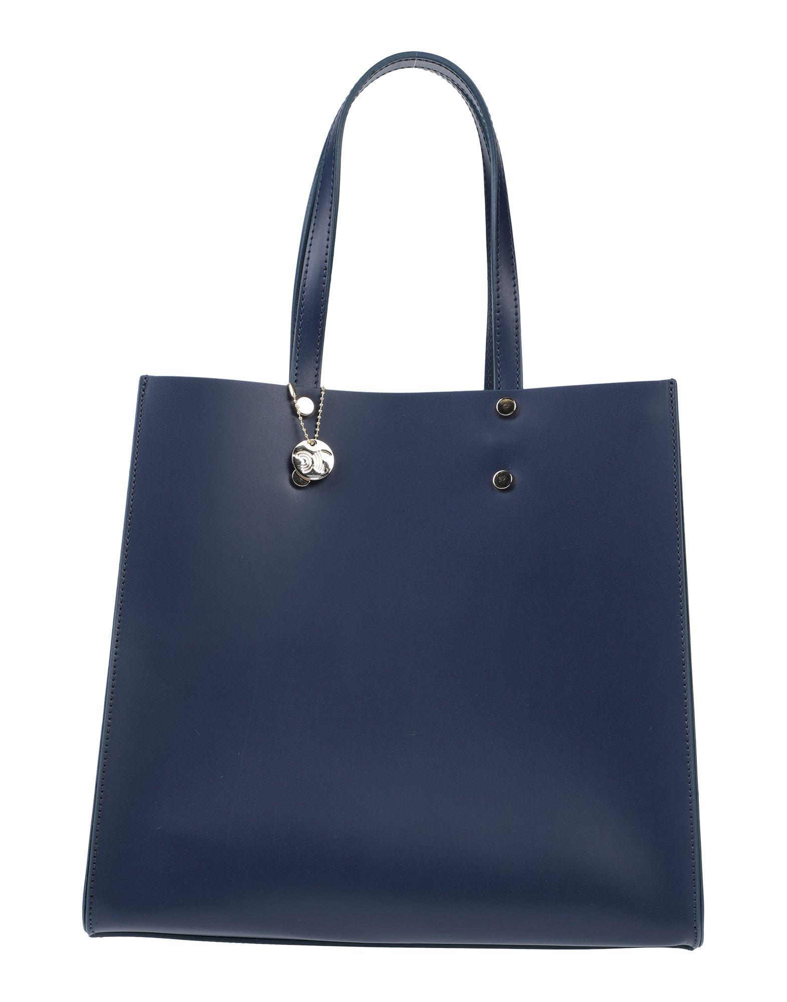 《セール開催中》LAURA DI MAGGIO レディース ハンドバッグ ブルー 革
