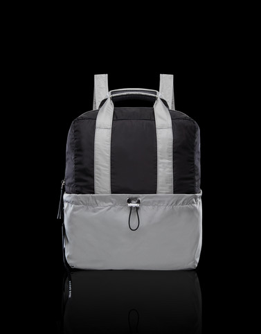 BACKPACK Grey Handbags Man